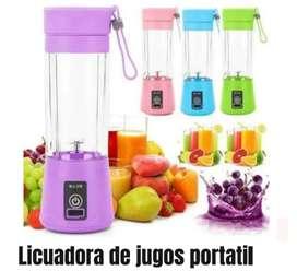 Licuadora de jugos portatil