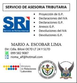 SERVICIO DE ASESORÍA TRIBUTARIA