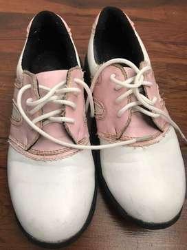 Zapatos de golf para niña