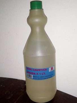 Soda Caustica Liquida X 1 Lt