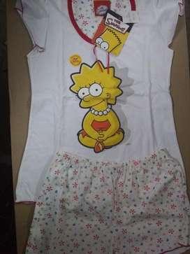 Pijama Original de Los Simpson Ex Calida