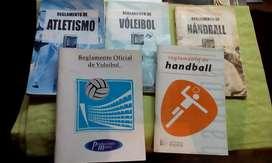 Lote de Reglamentos Deportivos
