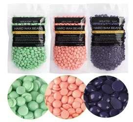 Cera Perlas Elástica Depilatoria X100g Hard Wax Beans Colors