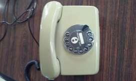telefono ENTEL. SIEMENS. a disco ..funciona.