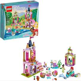 LEGO Disney Aurora Ariel and Tiana's Royal Celebration 41162 Building Kit 282 Pieces Discontinued by Manufacturer Ref:VS