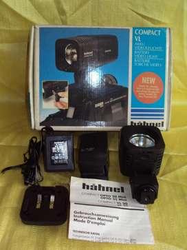 luz halógena video foto compac vl 35 hahnel