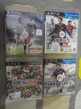 Play 3 juegos futbol