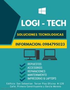 Repuestos laptops y mantenimiento