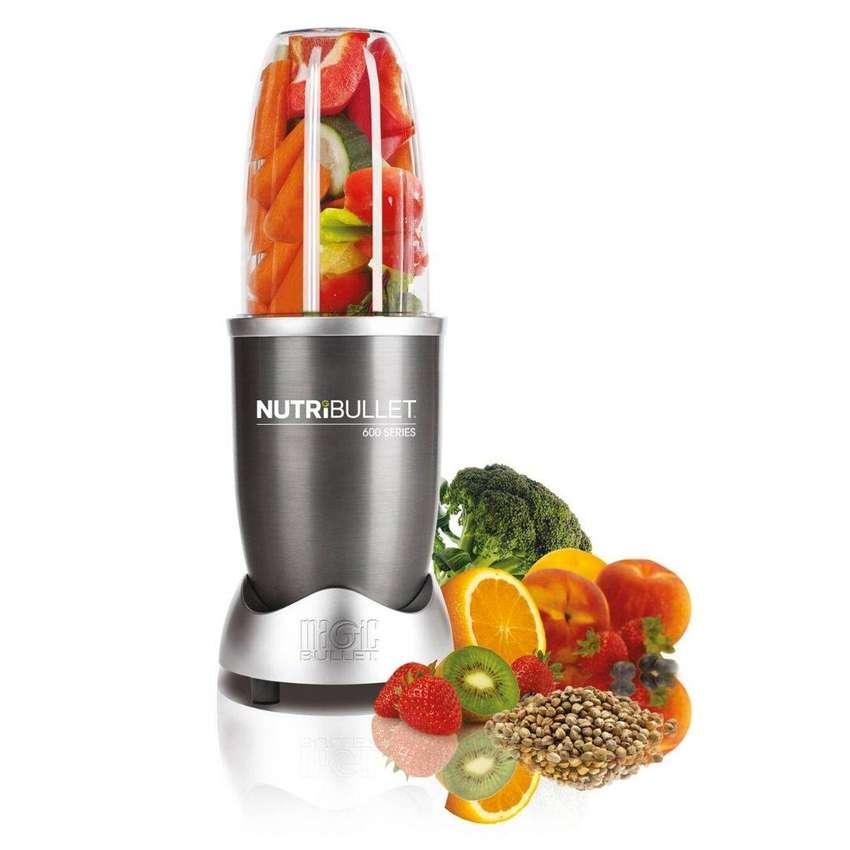 Extractor De Nutrientes Nutribullet 600 W Procesador Jugos 0