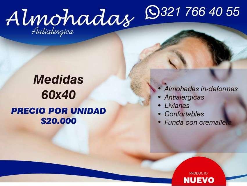 Almohadas Antialergicas Indeformables 0