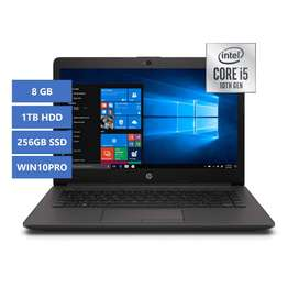 Portátil HP 240 G7 Intel Core i5 8GB 1TB + 256SSD WIN10PRO