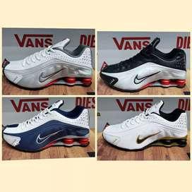 Zapatillas Nike shox hombre 4 colores nuevas