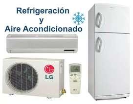 Técnico en refrigeración y electricista