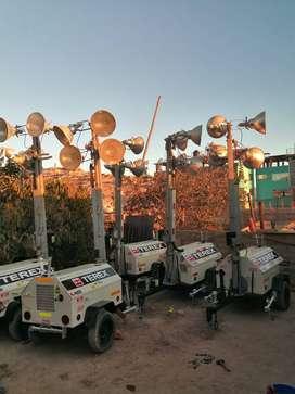 Venta de torres luminarias TEREX RL-413