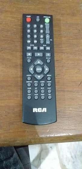 DVD, con control