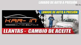 ACEITE Y LLANTAS PARA AUTOS