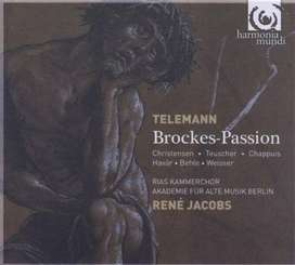 CDs - Georg Philipp Telemann: Brockes-Passion -