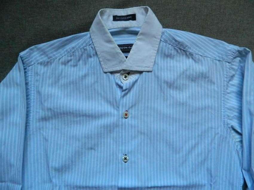 Hermosa camisa Garson Garcia XS extra small slim fit 0