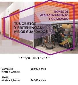 ALQUILER BOXES PARA GUARDADO Y ALMACENAMIENTO ZONA CENTRO - CIPOLLETTI