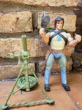 Muñeco Rambo de Colección