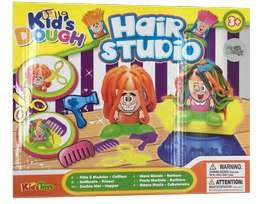 Set plastilina peluquero cortar cabello juego navidad moldeable
