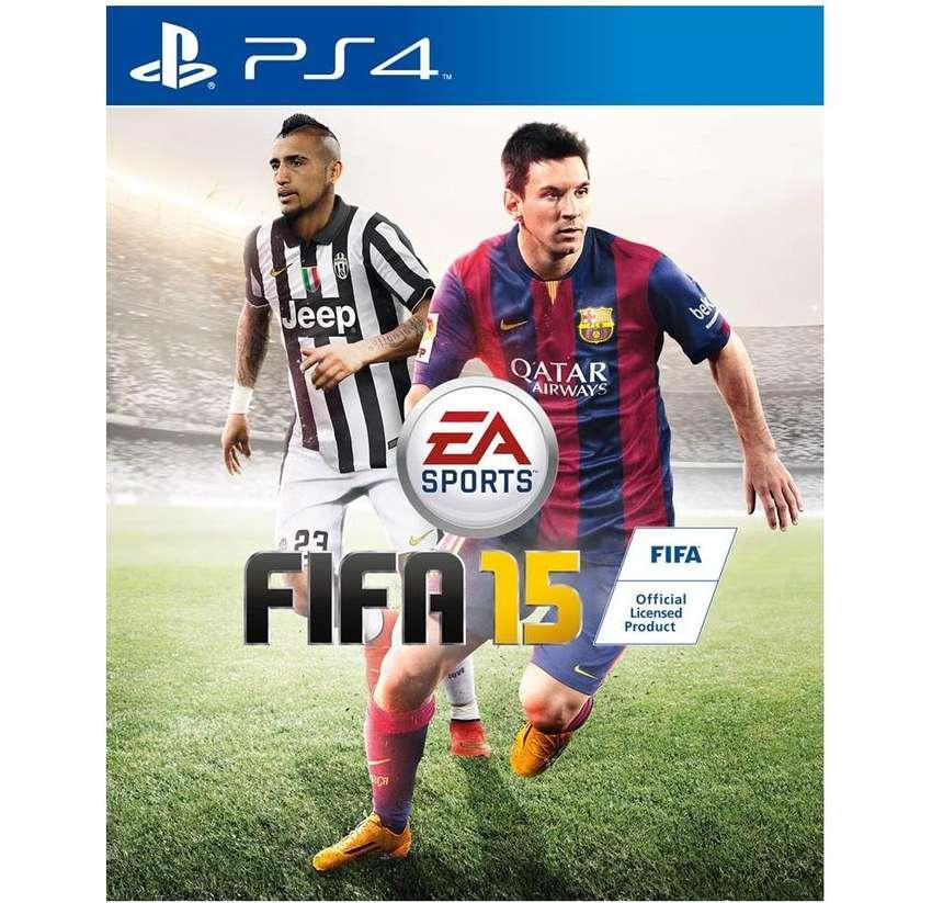 FIFA 2015 para PS4 medio fisico en BLURAY usado 0