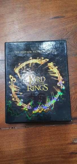 El señor de los anillos Trilogía 6 blueray