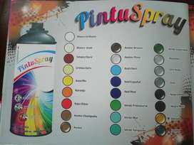 Pintu Spray, Pinturas en Aerosol