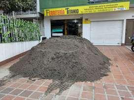 Venta de arena mediana - balastro-Grava