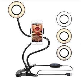 Aro lampara selfie