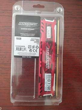 Memoria Ram Ddr4 16gb Crucial Ballistix 3000MHz