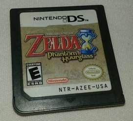 Zelda Phantom Hourglass en español Original Nintendo Ds