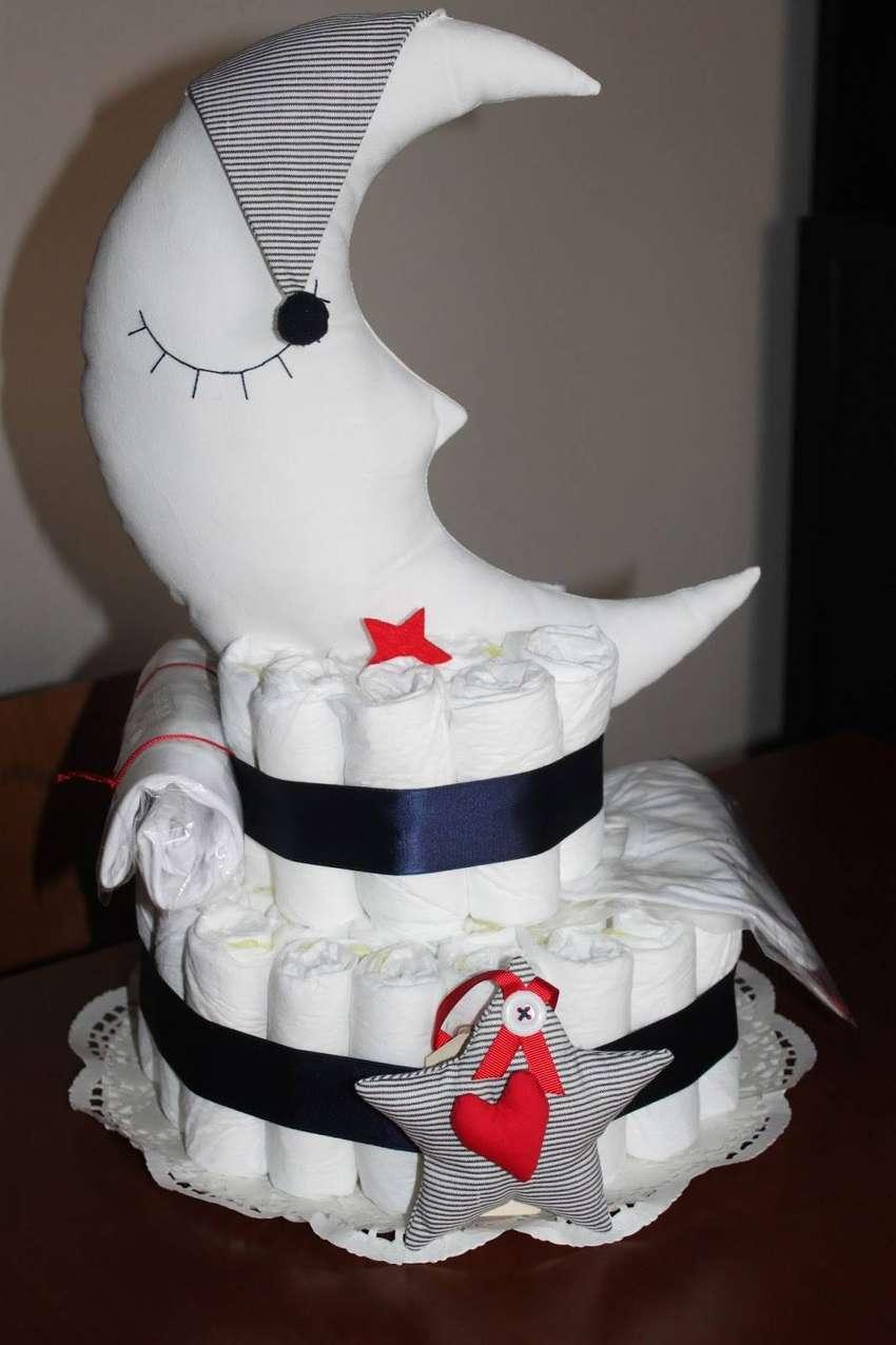 pastel de pañales