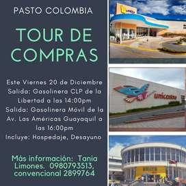 Tour de compras Navideñas en Pasto Nariño Colombia