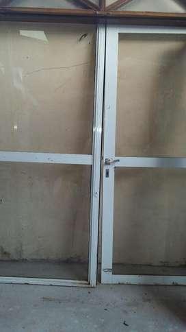 Puerta Balcon de Aluminio con Una Puerta