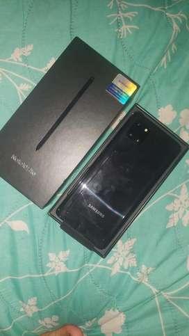 Samsung NOTE  10Lite nuevo en caja con factura grantia directamente con la marca