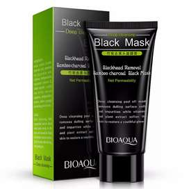 Mascarilla facial negra BIOAQUA 60 g. Black Mask original