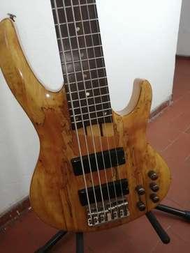 Bajo Esp by Ltd 6 cuerdas activo