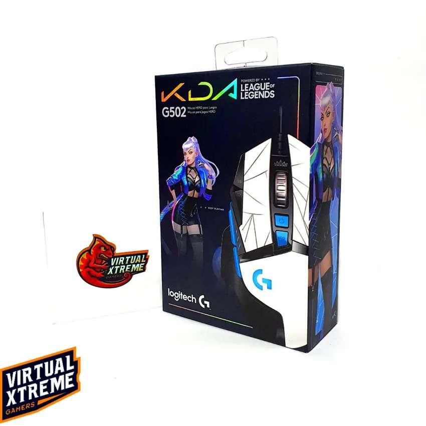 Logitech G502 HERO K/DA Mouse Gamer