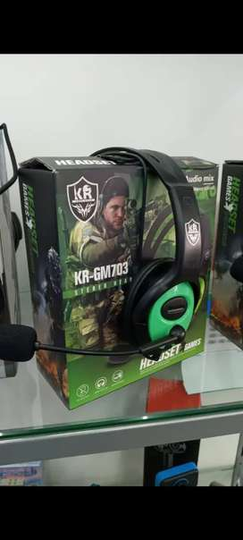 AURICULARES GAMER PARA CELULAR PC TABLET