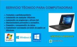 REPARACIÓN TECNICA A COMPUTADORES