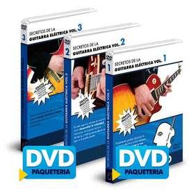 Curso de Guitarra Eléctrica AudioVisual,4xDVD | 1xCD | 12.2 GB | En Español