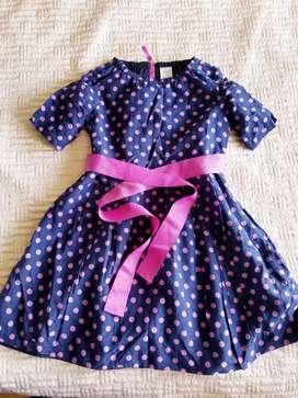 Vestido niña de 7 años Americano marca Crewcuts