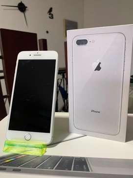 iPhone 8 Plus Silver 64gb usado buen estado