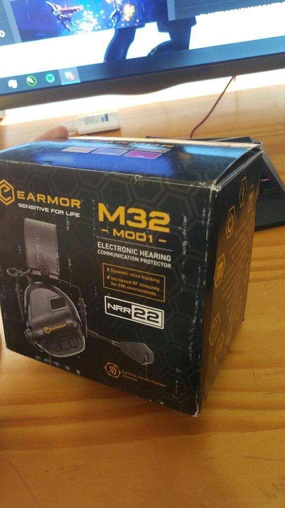 Headset Earmor M32  Ptt 0