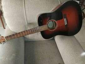 Guitarra Acústica Fender - Modelo CD-60SB. EXCELENTE GUITARRA, SONIDO, DISEÑO! :)