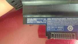 Batería Portátil Acer Aspire One D270