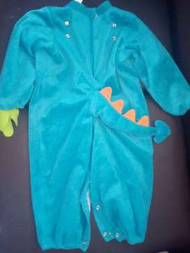 Baby Dinky Dragon Disfraz - Usado (1 Postura) Talla L - 18 a 24 meses (Niñas y Niños)