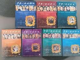 DVDS ORIGINALES 7 TEMPORADAS FRIENDS