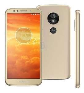 Celular Motorola e5 play 16GB dorado